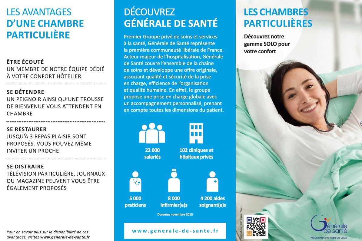 Nos chambres, nos services, nos tarifs | Hôpital privé de la Loire